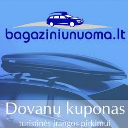 72 EUR (250 Lt) Dovanų kuponas pirkimui